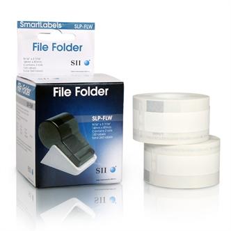 SLP-FLW White File Folder Labels