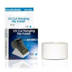 SLP-5HFL 1/5 Cut Hanging File Folder Labels