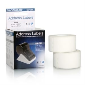 White Address Labels (2 pack) - SLP-2RL